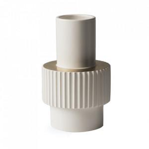 Vaza alba din portelan 25,5 cm Gear Pols Potten