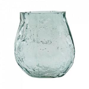 Vaza albastra din sticla 10 cm Moun House Doctor