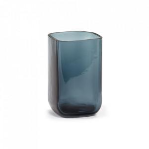 Vaza albastra din sticla 21 cm Silex Serax