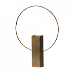 Vaza aurie din fier 40 cm Ring Be Pure Home