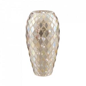 Vaza aurie din sticla 30 cm Masam Ixia
