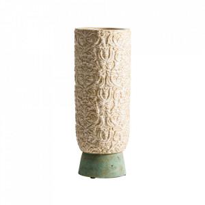 Vaza crem din ceramica 50 cm Eleni Vical Home