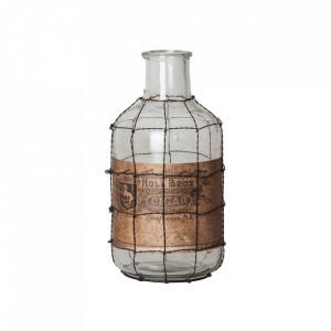 Vaza decorativa din sticla 27 cm Bros Cigar Vical Home