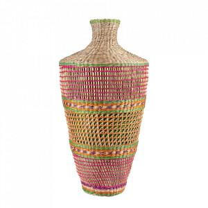Vaza decorativa multicolora din bambus 51 cm Katy Versmissen