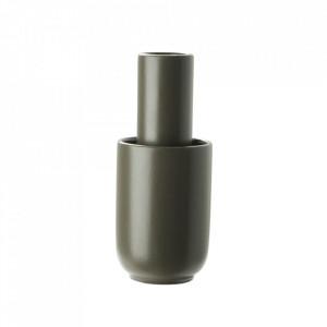 Vaza grej din ceramica 18 cm Amel Woud