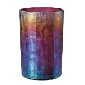Vaza multicolora din sticla 18 cm Hurricane Oily M Pols Potten