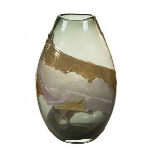 Vaza multicolora din sticla 35 cm Deka Santiago Pons