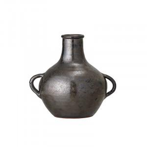 Vaza neagra din teracota 20 cm Atilius Bloomingville