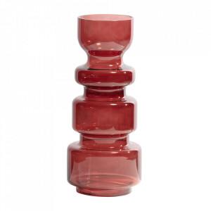 Vaza rosie din sticla 37 cm Expressive Be Pure Home