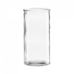 Vaza transparenta din sticla 20 cm Cylinder House Doctor