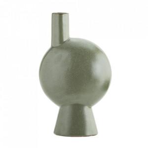 Vaza verde din ceramica 27 cm Sissone Madam Stoltz