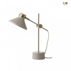 Veioza grej din metal 44 cm MR Frandsen Lighting