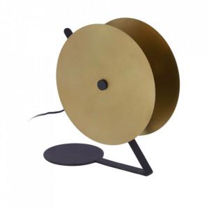 Veioza neagra/aurie din metal 35 cm Namine La Forma