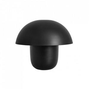 Veioza neagra din fier 40 cm Focus Nordal