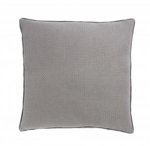 Perna decorativa patrata gri din bumbac 60x60 cm Isak Grey Zago