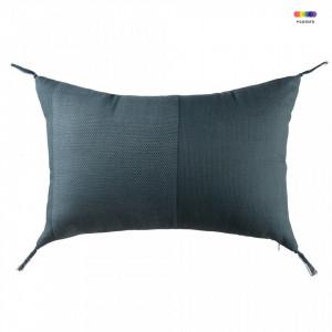 Perna decorativa dreptunghiulara albastra din bumbac 35x50 cm Recta Light Blue Zago