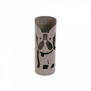 Suport gri din metal pentru umbrela 49 cm Grey Umbrella Versa Home