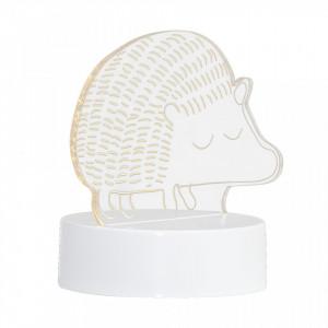 Decoratiune luminoasa transparenta cu LED din PMMA Hedgehog Bloomingville