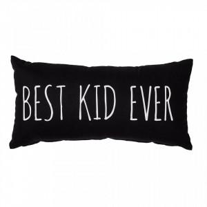 Perna decorativa neagra din bumbac 30x60 cm Best Kid Bloomingville