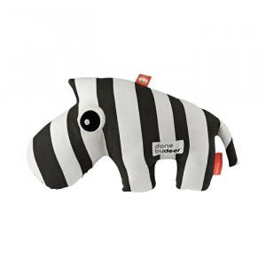 Jucarie alba/neagra din bumbac Zebra Done by Deer