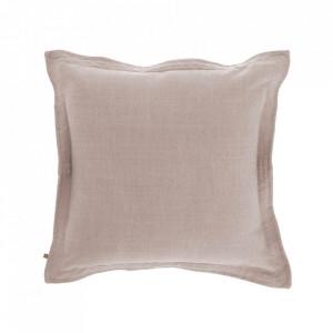Fata de perna roz din textil 45x45 cm Maelina La Forma