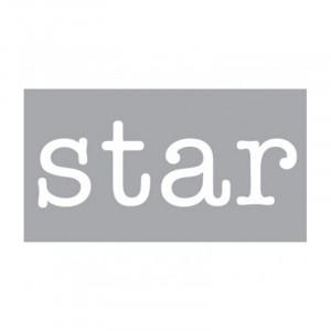 Decoratiune luminoasa alba din sticla Neon Art Star Seletti
