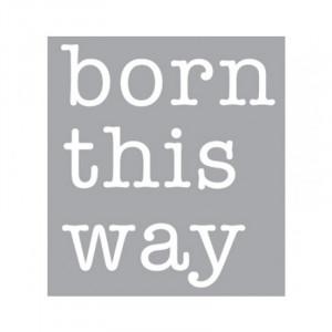 Decoratiune luminoasa alba din sticla Neon Art Born This Way Seletti
