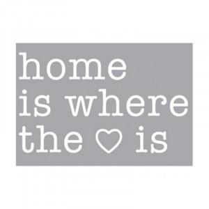 Decoratiune luminoasa alba din sticla Neon Art Home Is Where The Love Is Seletti