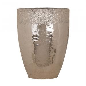 Vaza auriu sampanie din aluminiu 60 cm Blythe Richmond Interiors