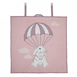 Pled multicolor din bumbac 100x100 cm Rabbit Bloomingville