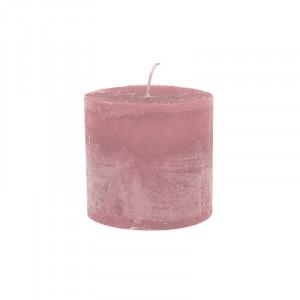 Lumanare roz din ceara parafinica 10 cm Bert LifeStyle Home Collection
