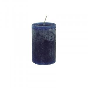 Lumanare albastru inchis din ceara parafinica 10 cm Daniel LifeStyle Home Collection