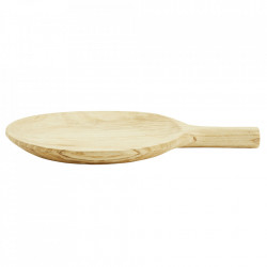 Platou maro din lemn de paulownia Corint Madam Stoltz
