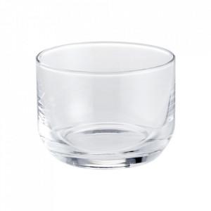 Pahar transparent din sticla 6x8,4 cm Taper Bolia