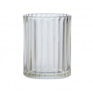 Suport maro din sticla pentru periuta dinti 7,5x10 cm Vetro Wenko