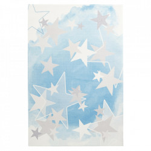Covor albastru din poliester My Stars Obsession (diverse dimensiuni)