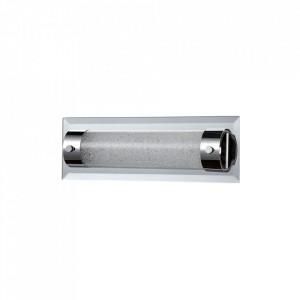 Plafoniera argintie din metal si sticla cu LED Mini Plasma Maytoni