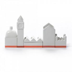 Set pentru organizarea biroului 33×6.5cm Desktructure The City Seletti