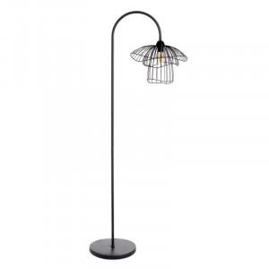 Lampadar negru din metal 150 cm Tulip Ixia