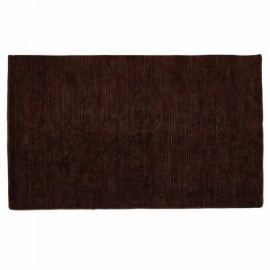 Covor maro din lana si poliester 160x230 cm Pavu Zago