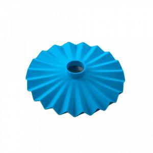 Abajur albastru din silicon 20 cm Cappello Blue Seletti