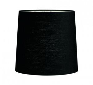 Abajur negru textil 16x15,5 cm Cylinder Markslojd