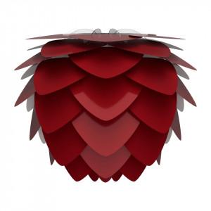 Abajur rosu din aluminiu si polipropilena Aluvia Ruby Red Umage
