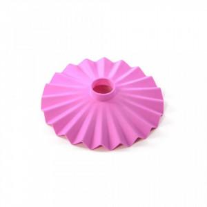 Abajur roz din silicon 20 cm Cappello Pink Seletti