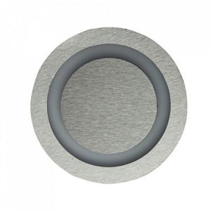 Aplica argintie din aluminiu si plastic Otimax S Milagro Lighting