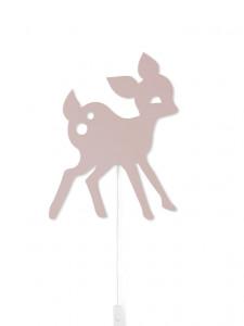 Aplica / Decoratiune luminoasa pentru copii Deer roz Ferm Living