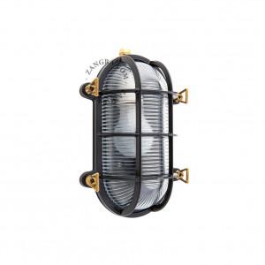 Aplica din alama neagra pentru exterior light.o.020.b.001 Zangra
