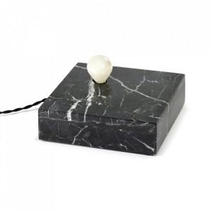 Aplica neagra din marmura Essentials Serax