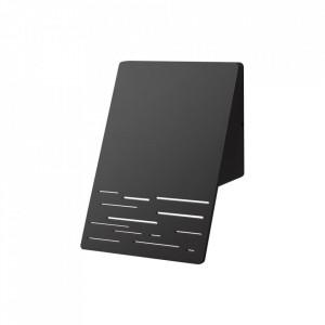 Aplica pentru exterior neagra din metal Linea Milagro Lighting