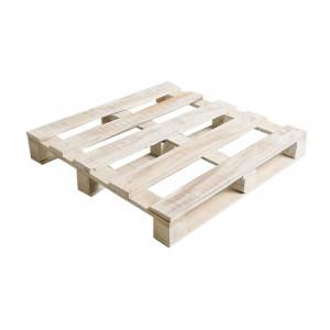 Baza pentru perna modulara de podea alba din lemn de mango 80x80 cm Nature Giner y Colomer